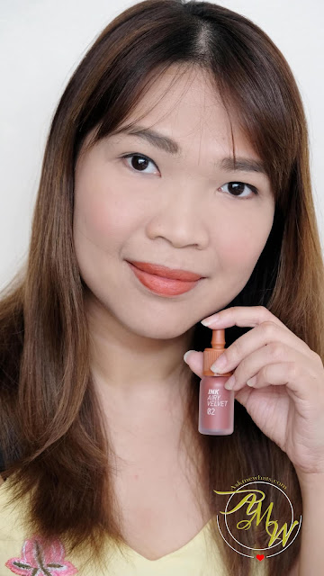 a photo of PeriPera Ink Airy Velvet 02 Review by Nikki Tiu of askmewhats.com