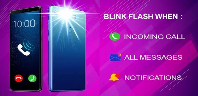 تنزيل Flash blink عند الاتصال ، وجميع الرسائل والإشعارات - تطبيق تنبيه فلاش ٣ : مكالمات و رسائل