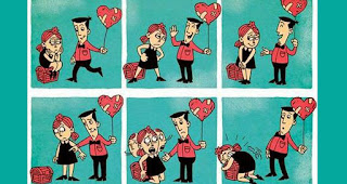 Namun ketika ada cinta baru yang menghampiri Anda, rasakanlah bagaimana dia mencoba membuat Anda kembali kuat berdiri