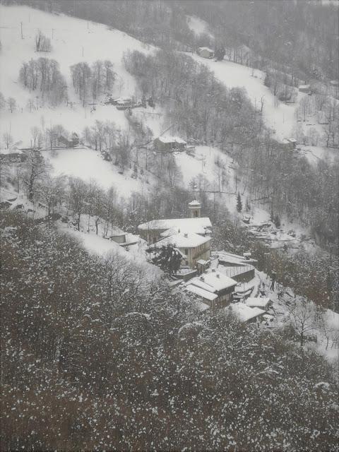 il borgo montanaro di Bagneri