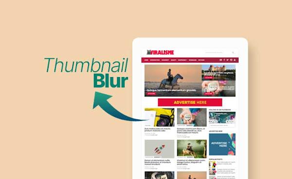 Mengatasi Thumbnail Homepage Blur di Blogger Versi Terbaru