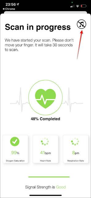 『Careplix Vitals』:號稱可以測量『心率、血氧、呼吸次數』的App
