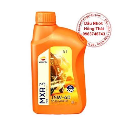 Repsol MXR 3 15W40 SG/MA