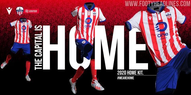 Owned by Atlético Madrid: Atlético Ottawa 2020 Home Kit Released - Footy  Headlines