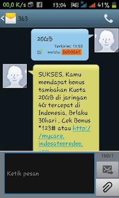 Trik Cara Mendapatkan Kuota Gratis 20GB Dari Indosat Terbaru