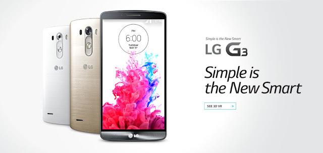 Harga dan Spesifikasi LG G3 Terbaru