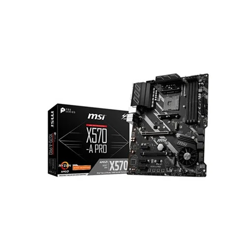 Mainboard MSI X570-A PRO (Supports 2nd and 3rd Gen AMD Ryzen)