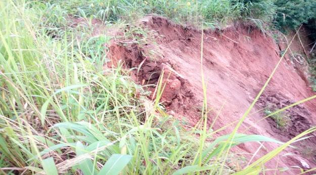 image: landslide disater