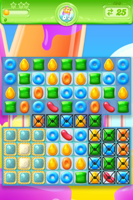 Candy Crush Jelly Saga 190