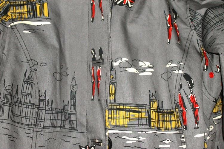 A Vintage Nerd, Vintage Blog, Boden Rain Coat, Boden London Rain Coat, Retro Fashion Blog