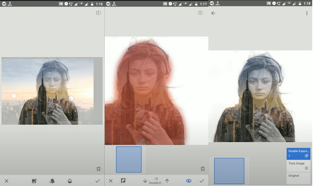 How To Use Double Exposure In Snapseed ?