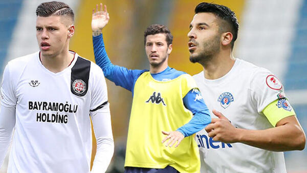Galatasaray transferde 3 yerliyle anlaştı!
