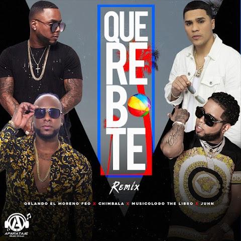 SOMOS LOS PRIMEROS AQUÍ ➤ Chimbala Ft Juhn, Musicologo The Libro & Orlando Moreno Feo - Que Rebote (Remix)