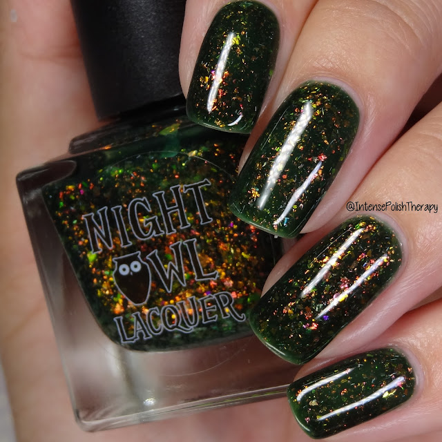 Night Owl Lacquer I'm Allergic To Pollen & Social Situations