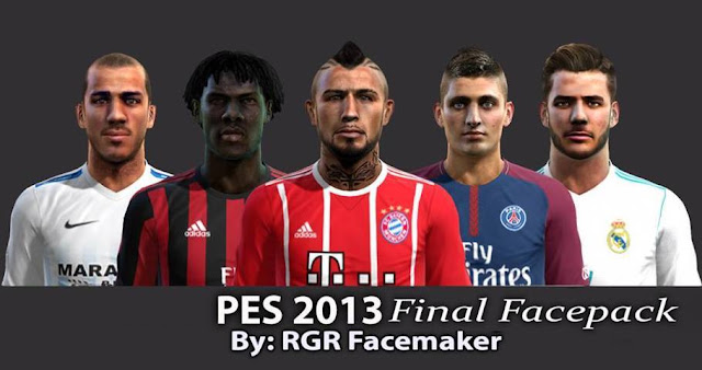 Final Facepack PES 2013