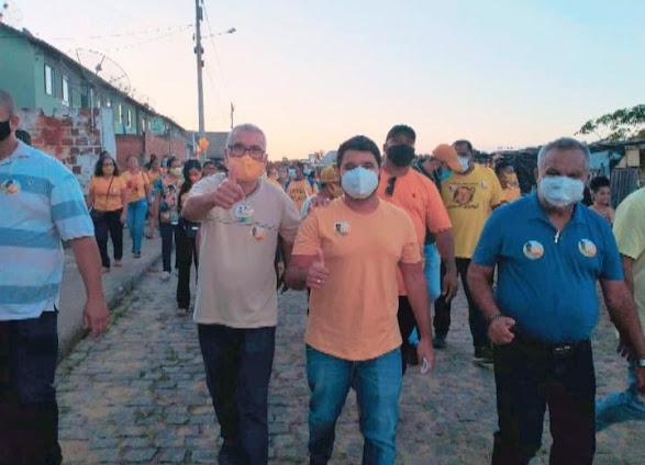 Jair Saloes intensifica Campanha e recebe mais apoios ao Projeto de Reeleição