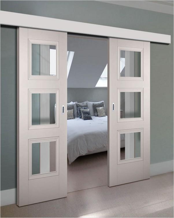√√ double bedroom doors  home interior exterior decor