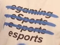 penulisan kata esports benar