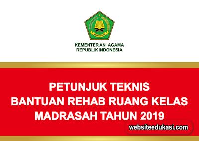 Juknis Bantuan Rehab Berat Ruang Kelas Madrasah 2019