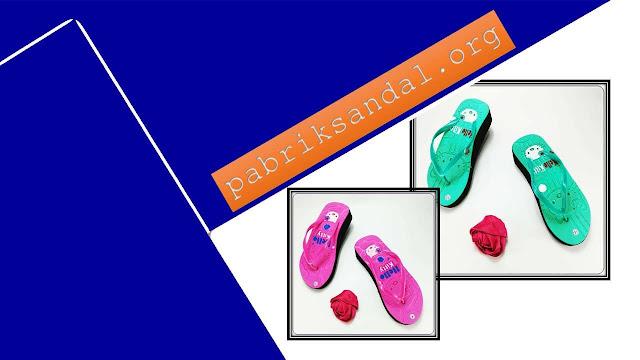 Wedges Sandal Wanita Casual- Sandal AB HK Tebal Wanita