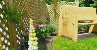 commemorative handmade bench for Harry