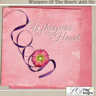 Creative Team, Annemarie, for GingerScraps - January 2019 Desktop Challenge by LDrag Designs and Freebie and Whispers Of The Heart: The Collection by LDragDesigns along with Coordinating Kit Freebie