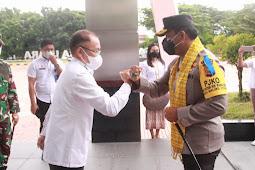 Risyapudin Nursin Lakukan Kunjungan Kerja Perdana Kapolda Malut ke Halmahera Utara