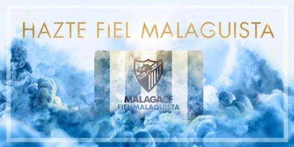 """El Málaga explica que es """"Fiel Malaguista"""""""