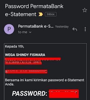 Password E-Statement Bank Permata