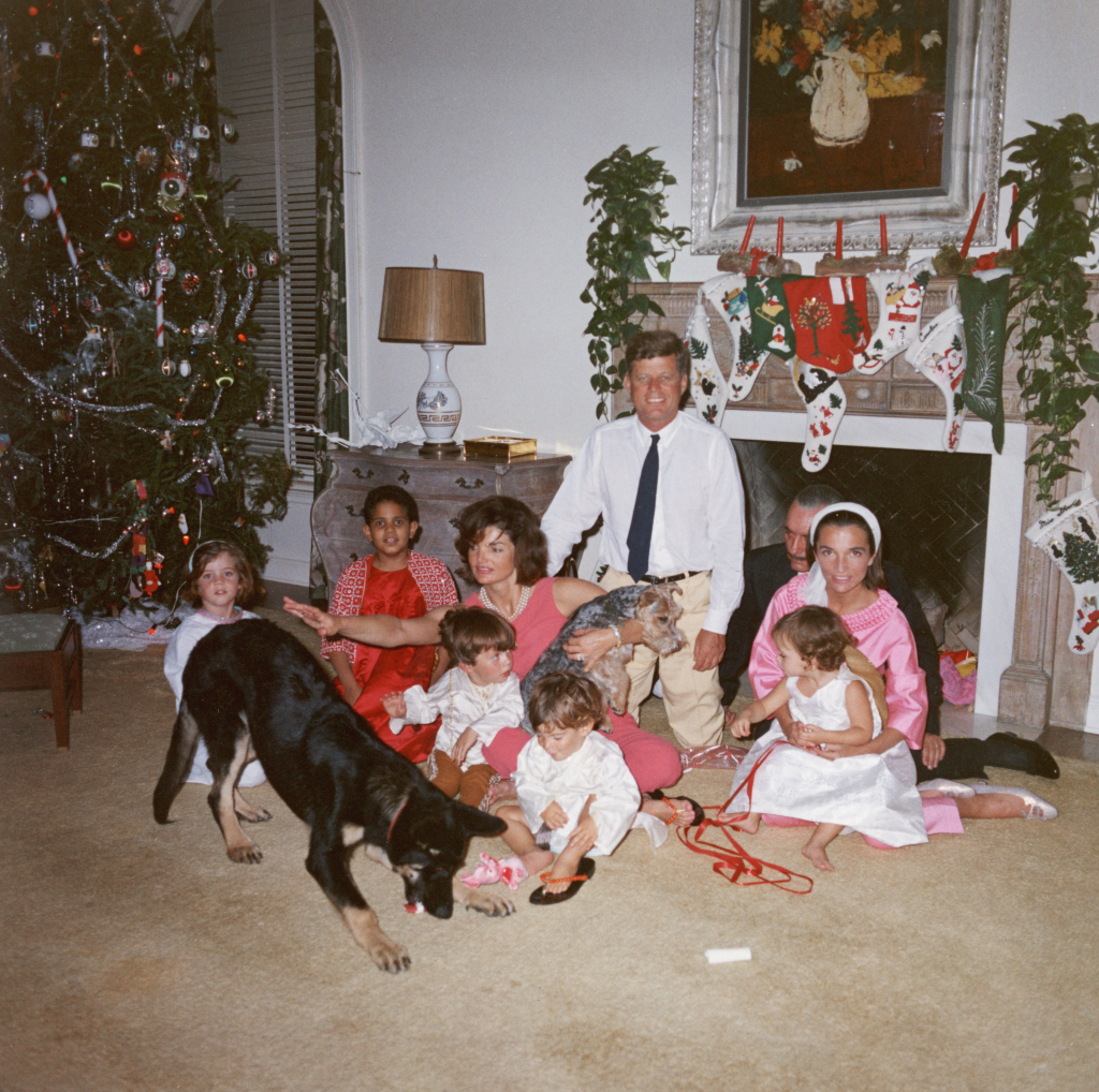 The Kennedy Family At White House On Christmas 1962 Vintage Everyday