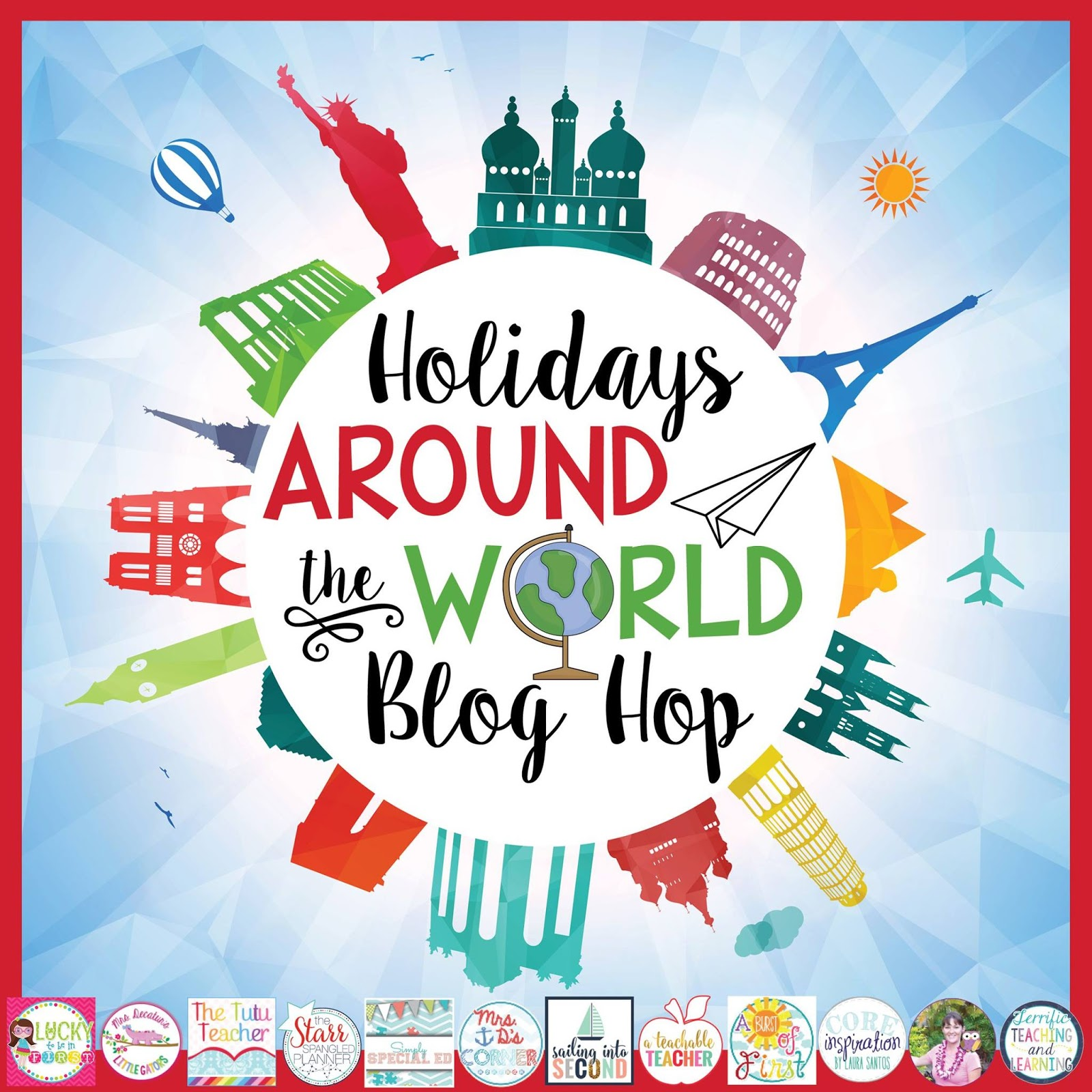 Holidays Around The World: England (with FREEBIES)