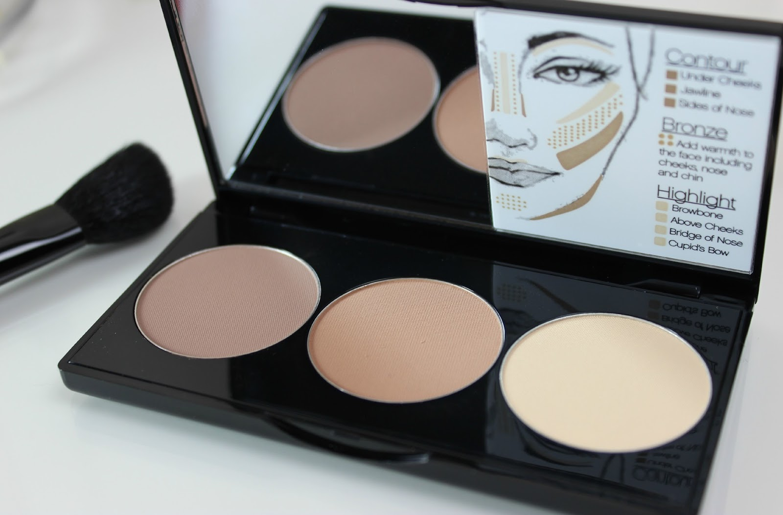 A picture of Smashbox Step by Step Contour Kit