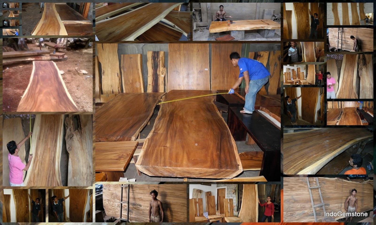 Rough Cut Hardwood Indogemstone