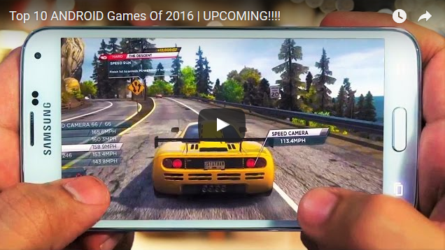 Top 10 ANDROID Games Terbaru Dan Terbaik Di Tahun 2016