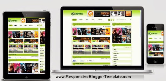 Donveo Responsive Valid HTML 5 And Valid CSS 3 Blogger Templates