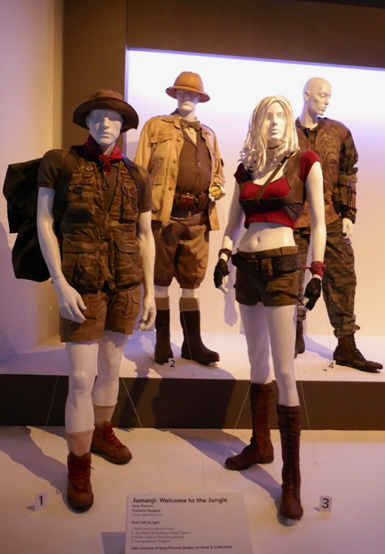 Jumanji Welcome to the Jungle movie costumes