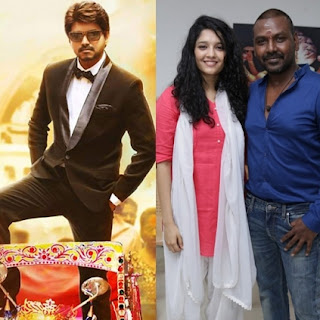 Raghava Lawrence and Ritika Singh in Shivalinga and Vijay Bairavaa