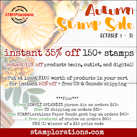 STAMPlorations October Sale!