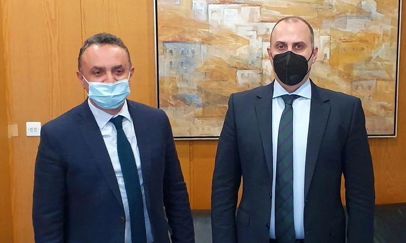 Στο Υπουργείο Υποδομών ο Σταύρος Κελέτσης με στόχο την επιτάχυνση της αποκατάστασης των ζημιών