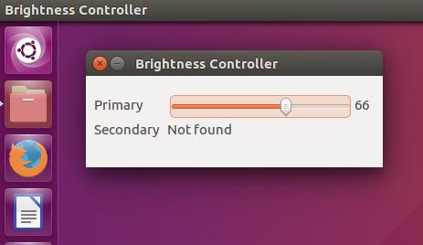 Adjust Laptop Brightness via a Software under Ubuntu 16 04
