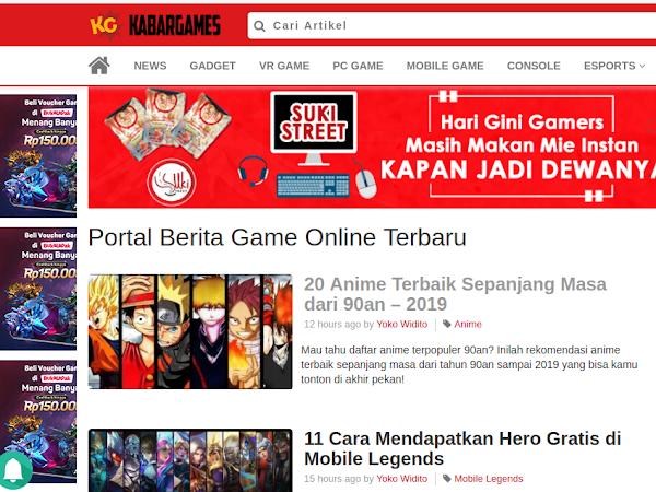 Kabargames.id, Situs Referensi Game Mobile hingga PC Terbaik