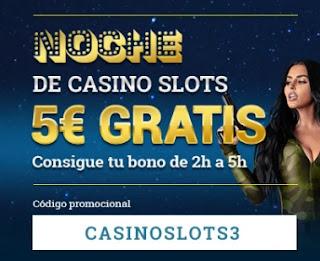Todoslots 5 euros gratis esta noche 13-1-2021