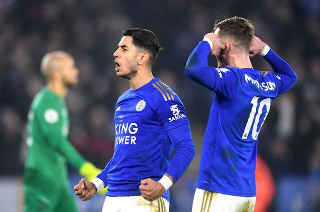 Video Cuplikan Gol: Leicester City 4-1 West Ham United (Premier League)