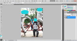 Membuka Gambar dengan Photoshop