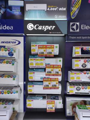 Thương hiệu Điều hòa Casper thuộc top đầu thị trường