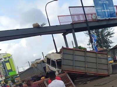 collapsed Lagos bridge: No casualty recorded says LASEMA