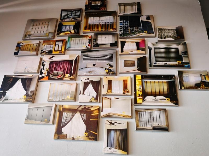 venus curtainz gallery showroom
