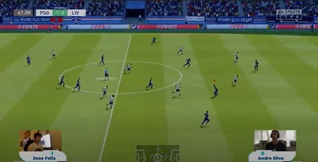 JOÃO FÉLIX VENCE ANDRÉ SILVA EM TORNEIO SOLIDÁRIO FIFA 20 DO GAMERS WITHOUT BORDERS