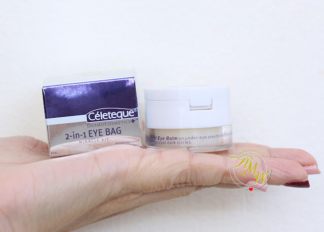 a photo of Celeteque 2-in-1 Eye Bag Miracle Kit Natural
