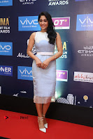 Actress Regina Candra Stills in Beautiful Sleeveless Blue Short Dress at SIIMA Short Film Awards 2017 .COM 0001.JPG